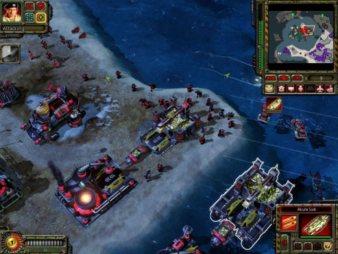 Strategiespiel Command & Conquer – Alarmstufe Rot 3: Strand