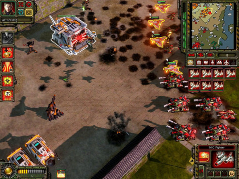 Strategiespiel Command & Conquer – Alarmstufe Rot 3: Lager