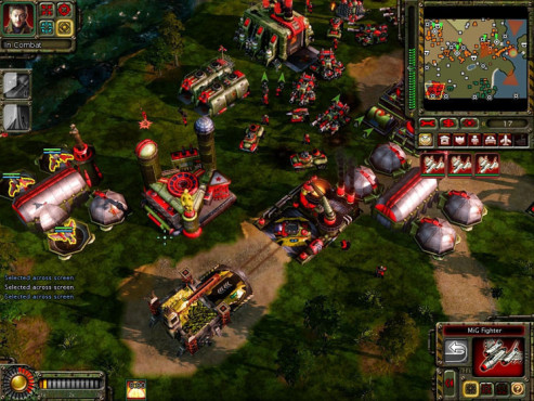 Strategiespiel Command & Conquer – Alarmstufe Rot 3: Produktion