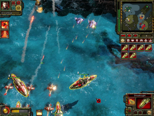Strategiespiel Command & Conquer – Alarmstufe Rot 3: See