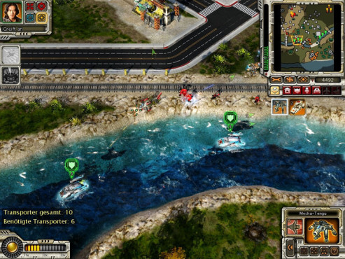 Strategiespiel Command & Conquer – Alarmstufe Rot 3: Ufer