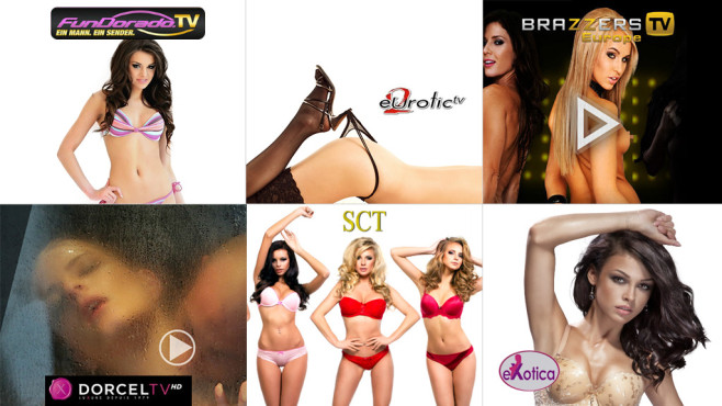Die heiße Liste: Prickelnde Erotik-Sender in der Übersicht ©Fundorado, eurotic, Brazzers, Dorcel TV, SCT, exotica