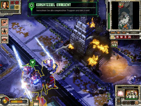 Strategiespiel Command & Conquer – Alarmstufe Rot 3: Kreml
