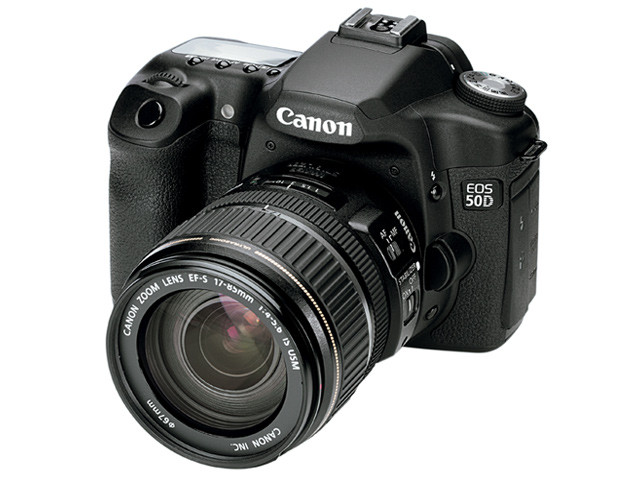how to connect canon eos 50d to computer