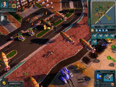 Strategiespiel Command & Conquer – Alarmstufe Rot 3: Angriff