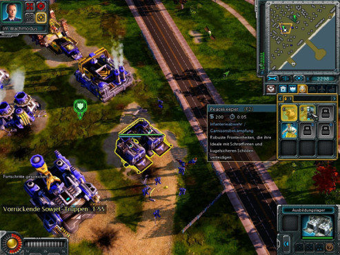 Strategiespiel Command & Conquer – Alarmstufe Rot 3: Peacekeeper