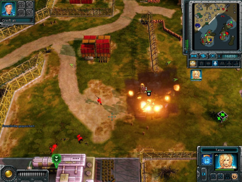 Strategiespiel Command & Conquer – Alarmstufe Rot 3: Baracke
