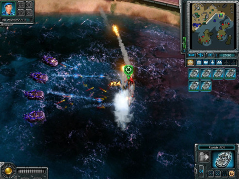 Strategiespiel Command & Conquer – Alarmstufe Rot 3: Torpedos