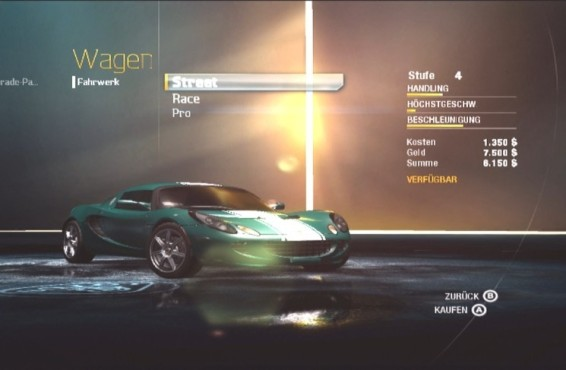 Rennspiel Need for Speed – Undercover: Upgrade