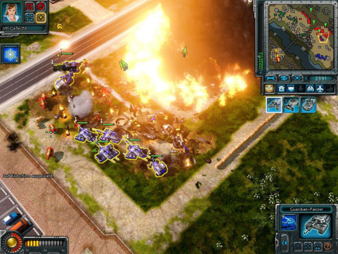 Strategiespiel Command & Conquer – Alarmstufe Rot 3: Feuer