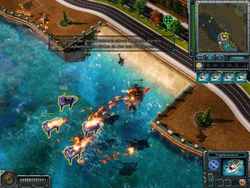 Strategiespiel Command & Conquer � Alarmstufe Rot 3: Tragfl�chenboote