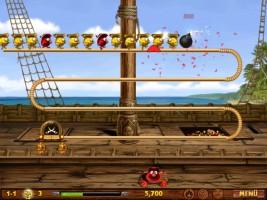 Screenshot 1 - Vogel-Piraten – Kostenlose Vollversion