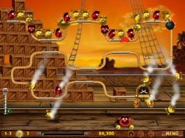 Screenshot 3 - Vogel-Piraten – Kostenlose Vollversion