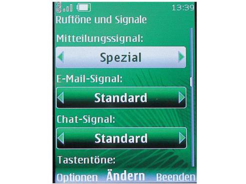SMS-Ton �ndern