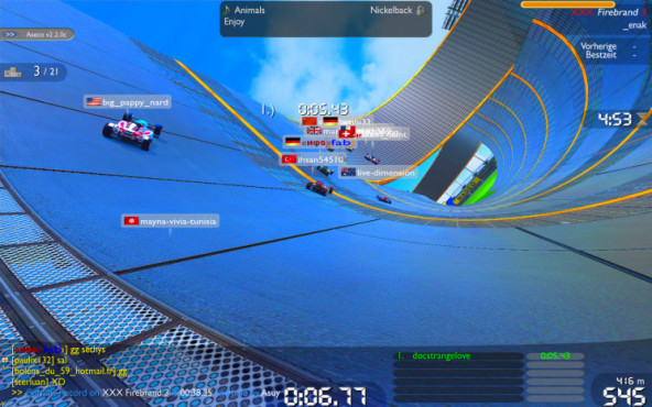 Trackmania Nations: Bunt
