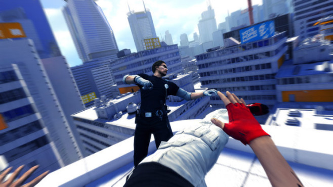New Xbox Experience (NXE): Mirror's Edge