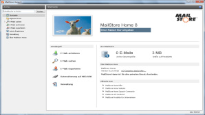 MailStore Home - Gratis-Software zur Archivierung von E-Mails ©COMPUTER BILD