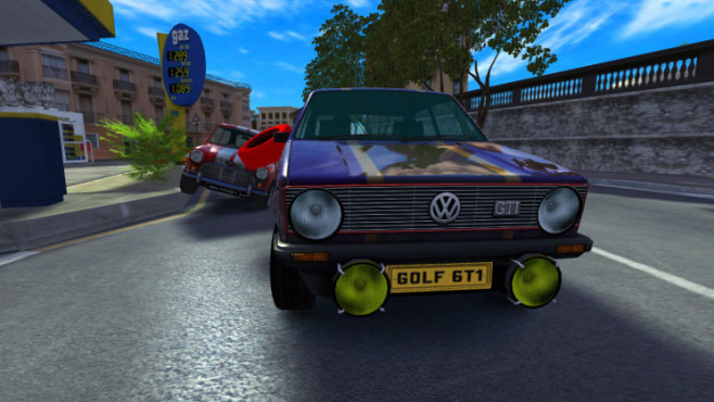 Rennspiel GTI Club Plus: Golf