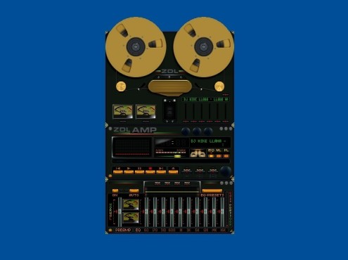ZDL Reel-To-Reel Analog Tape Machine