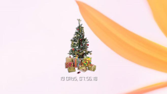 Free Christmas Tree: Weihnachtsbaum mit Info-Anzeige ©COMPUTER BILD