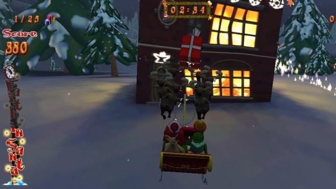 Santa Ride 2: Geschenke im Schnee zusammentragen ©COMPUTER BILD