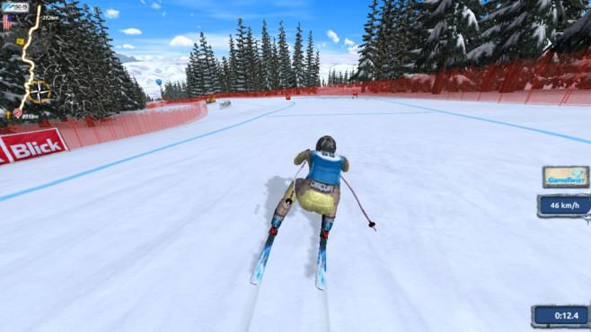 Ski Challenge: Skifahren am PC ©COMPUTER BILD