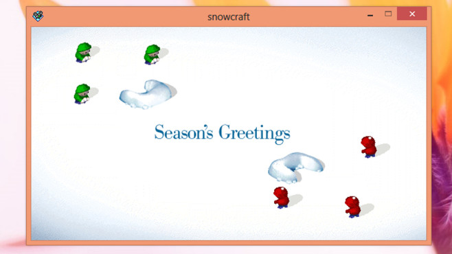 Snowcraft: Strategische Schneeballschlachten ©COMPUTER BILD
