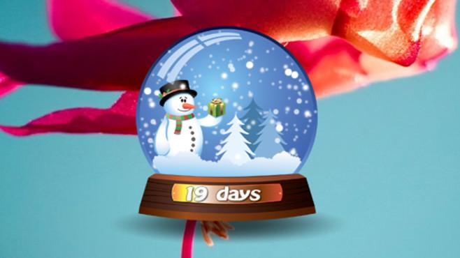 Snowman Snowglobe: Winterliches Desktop-Gadget ©COMPUTER BILD