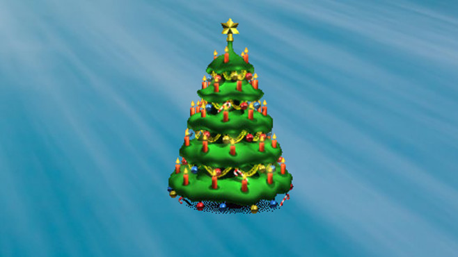 X-mas Tree: Tannenbaum-Klon f�r den Desktop ©COMPUTER BILD