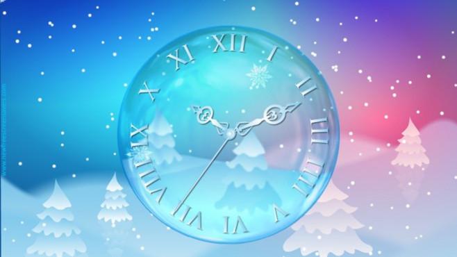 nfsSnowflakes Hours: Stilvolle Uhr f�r zwischendurch ©COMPUTER BILD