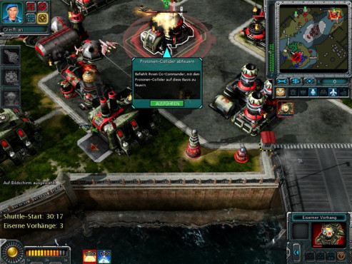 Strategiespiel Command & Conquer – Alarmstufe Rot 3: Protonen-Collider