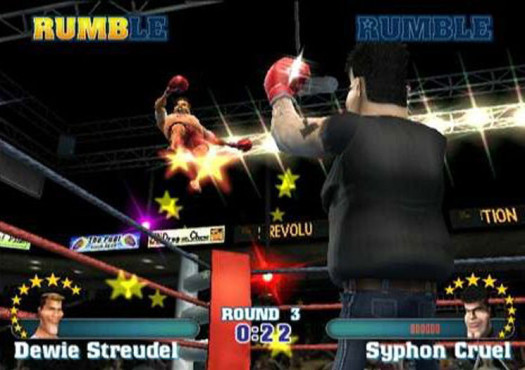 Prügelspiel Ready 2 Rumble Revolution: Boxer