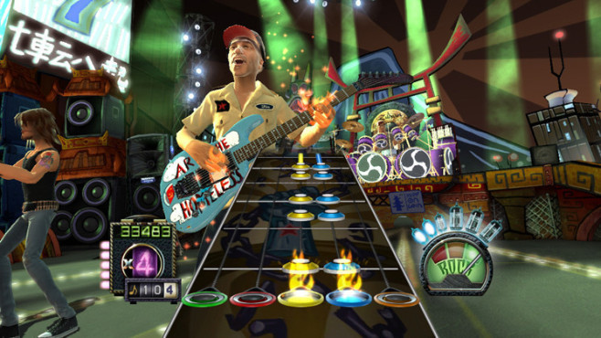 Musikspiel Guitar Hero 3 – Legends of Rock: Gitarrist