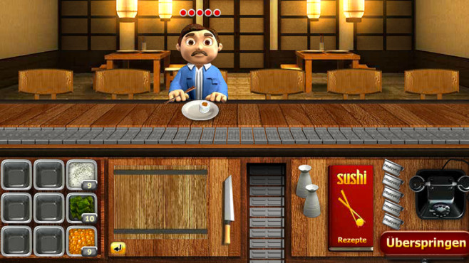 Youda Sushi Chef ©Miniclip