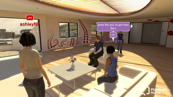 Playstation Home: Luxusappartement