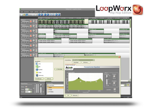 Acon Digital Media Loop Worx: Komponiersoftware