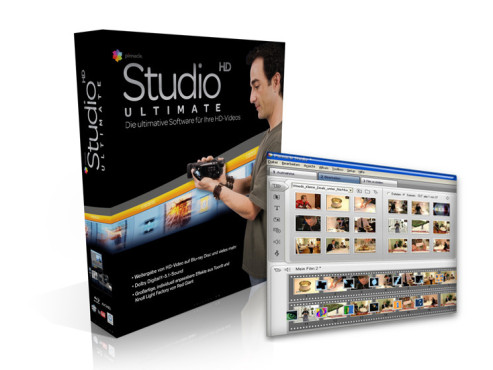 Avid Pinnacle Studio Ultimate: Video-Bearbeitungsprogramm
