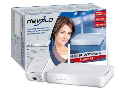 Devolo dLAN 200: Stromnetzwerkadapter