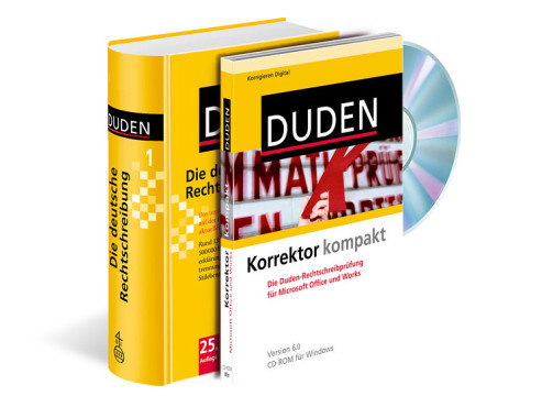 Duden Korrektor kompakt: Software