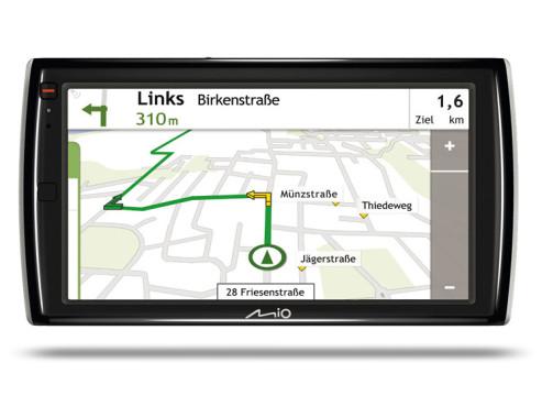 Mio Moov Spirit V735 TV: Navigationsgerät