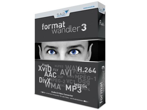 S.A.D. Formatwandler 3:  Musik- und Video-Umwandler