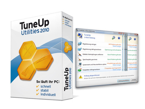 S.A.D. TuneUp Utilities 2010: Windows-Optimierungsprogramm