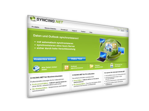 Syncing.Net Professional: Datenaustausch-Software