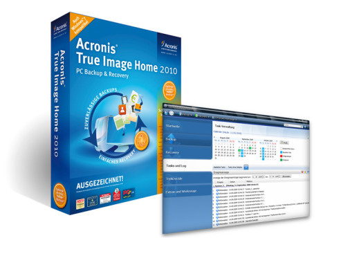 True Image 2010: Datensicherungs-Software von Acronis