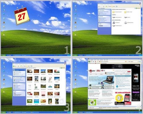 Software-Kalender: Virtual Desktop