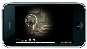 Actionspiel Metal Gear Solid Touch: Gegner