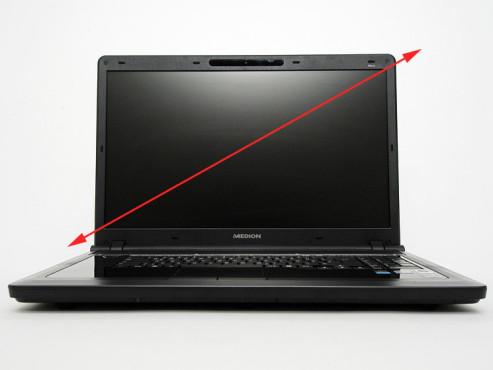 Notebook-Fallen: Bildschirmgr��e ©COMPUTER BILD