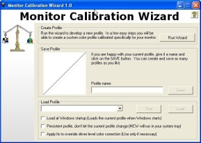 Monitor Calibration Wizard