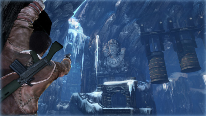 Actionspiel Uncharted 2 – Among Thieves: Eishöhle