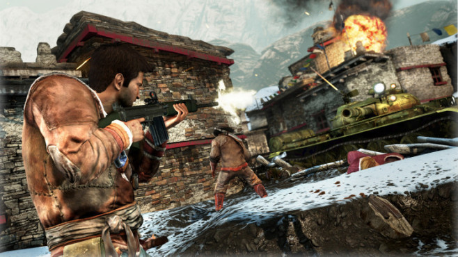 Actionspiel Uncharted 2 – Among Thieves: Feuergefecht